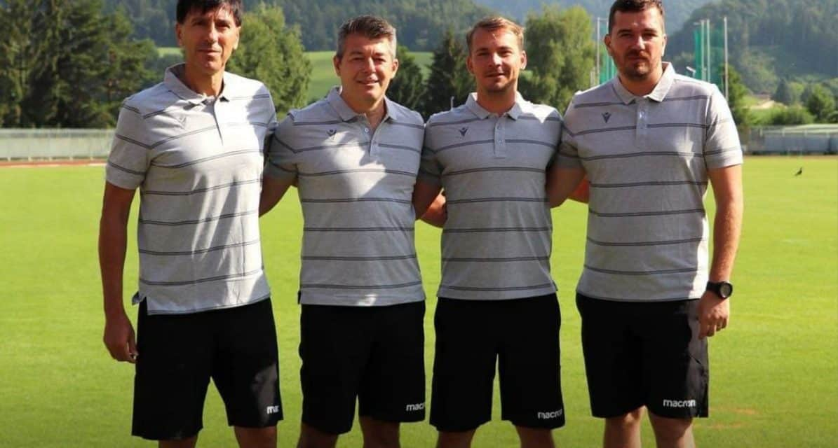 NEXT CHALLENGE: Kabashi named assistant coach at Slovenia club