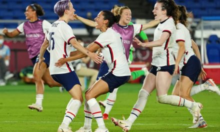 WHICH WAY WILL SHE GO? Rapinoe admits she doesn't know where she will shoot her PKs until the final second