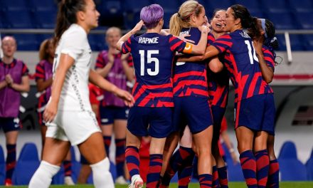 NOW, THAT'S MORE LIKE IT: USWNT roll past New Zealand, 6-1