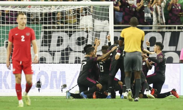 BETTER LATE THAN NEVER: Mexico survives Canada with a goal deep into stoppage time