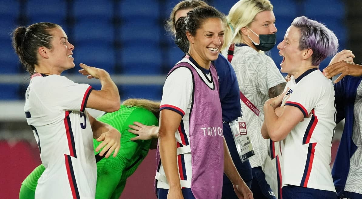 FACTS AND FIGURES: Of the USWNT after quarterfinal win - frontrowsoccer.com