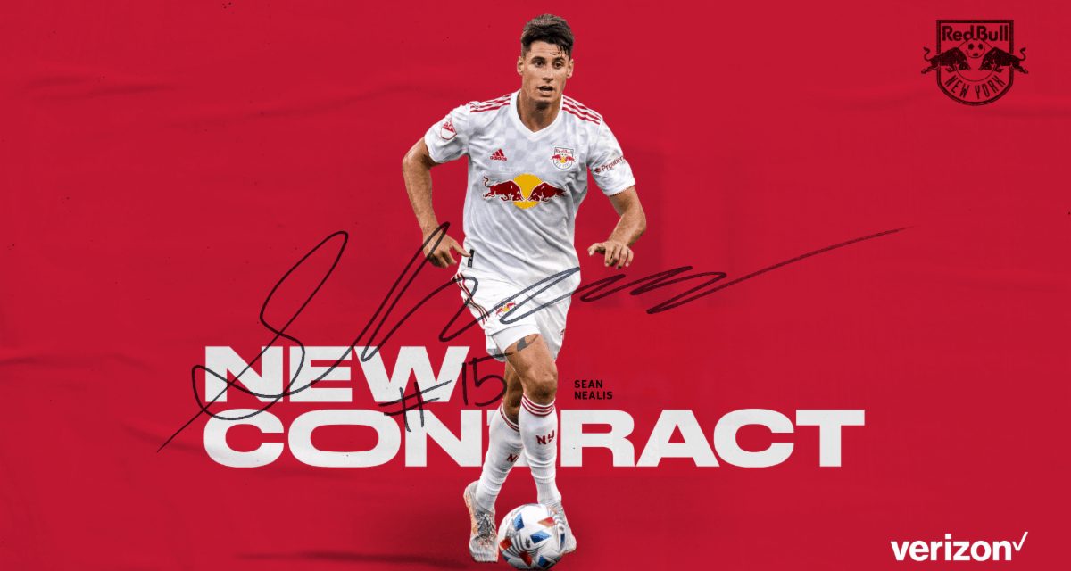 A NEW DEAL: Red Bulls sign Nealis to 3-year contract