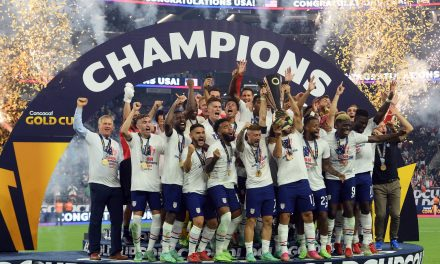 SEVENTH HEAVEN: Robinson's late goal lifts USMNT over Mexico to win Gold Cup in extratime