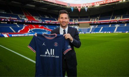 HE'LL ALWAYS HAVE PARIS: Messi joins PSG on 2-year deal