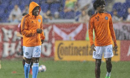 POSTPONED: After 2 1/2-hour weather delay, Hudson River Derby match called off