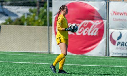 SAVING GRACES: Lipkens' dozen saves help St. John's women to another win
