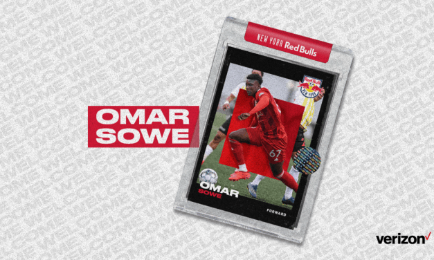 MOVING ON UP: Red Bulls sign NYRBII forward Sowe to MLS contract