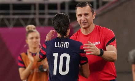 CARLI LLOYD, LEGEND: 'If she was a male player anywhere in the world, they'll be statues of her in front of stadiums'