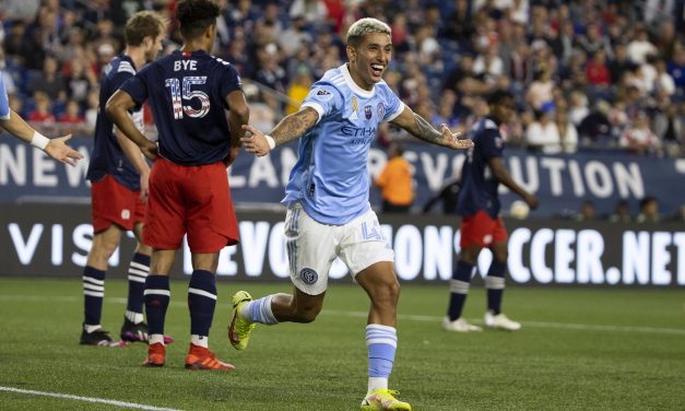 CAN'T OVERTHROW THE REVOLUTION: NYCFC falls in New England, 2-1
