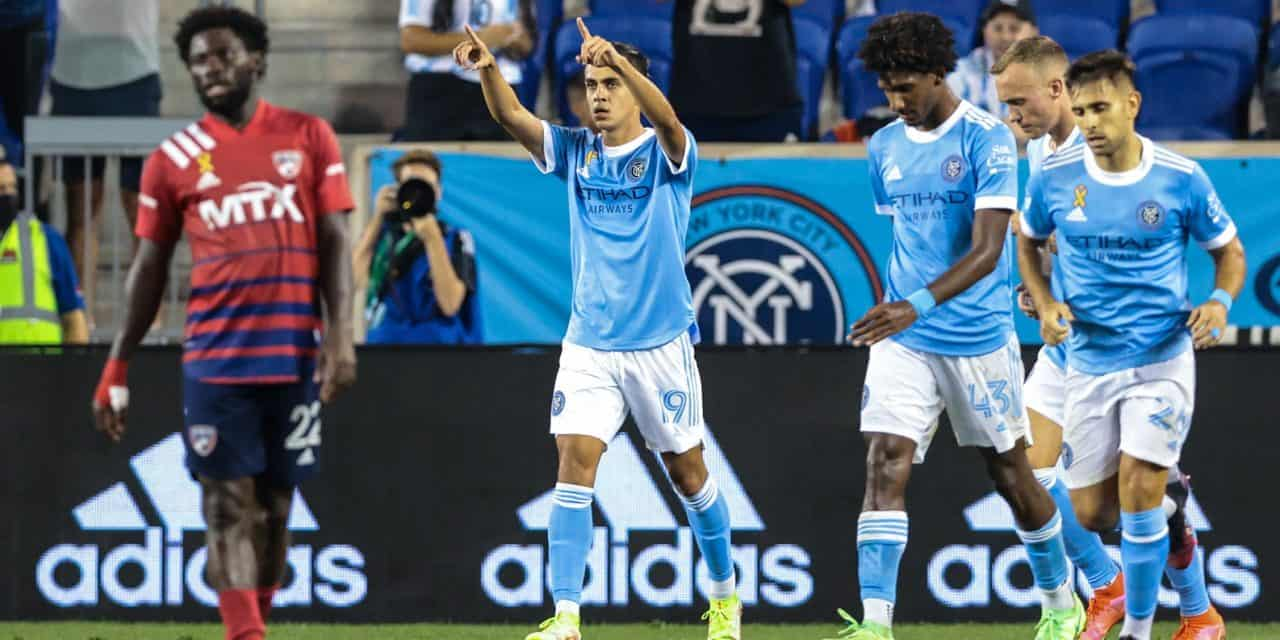 A WILD AND CRAZY DRAW: NYCFC strikes thrice, but settles for a home tie