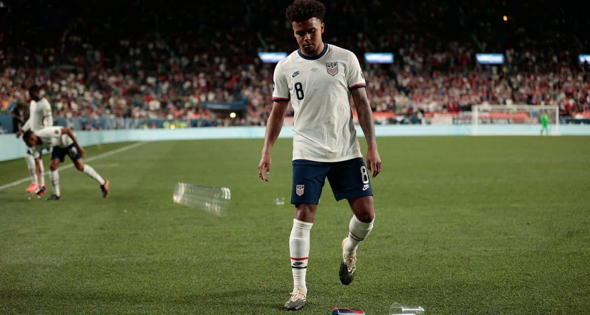 TWO STRIKES AND HE WAS OUT: Report: McKennie broke USMNT COVID-19 protocol twice