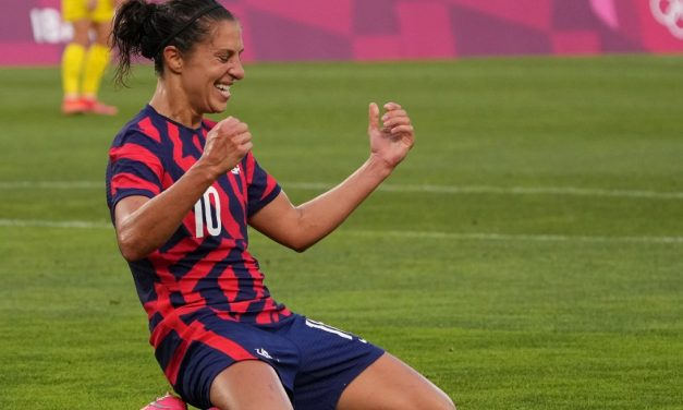 BACK IN ACTION: In 1st game since Olympics, USWNT hosts Paraguay