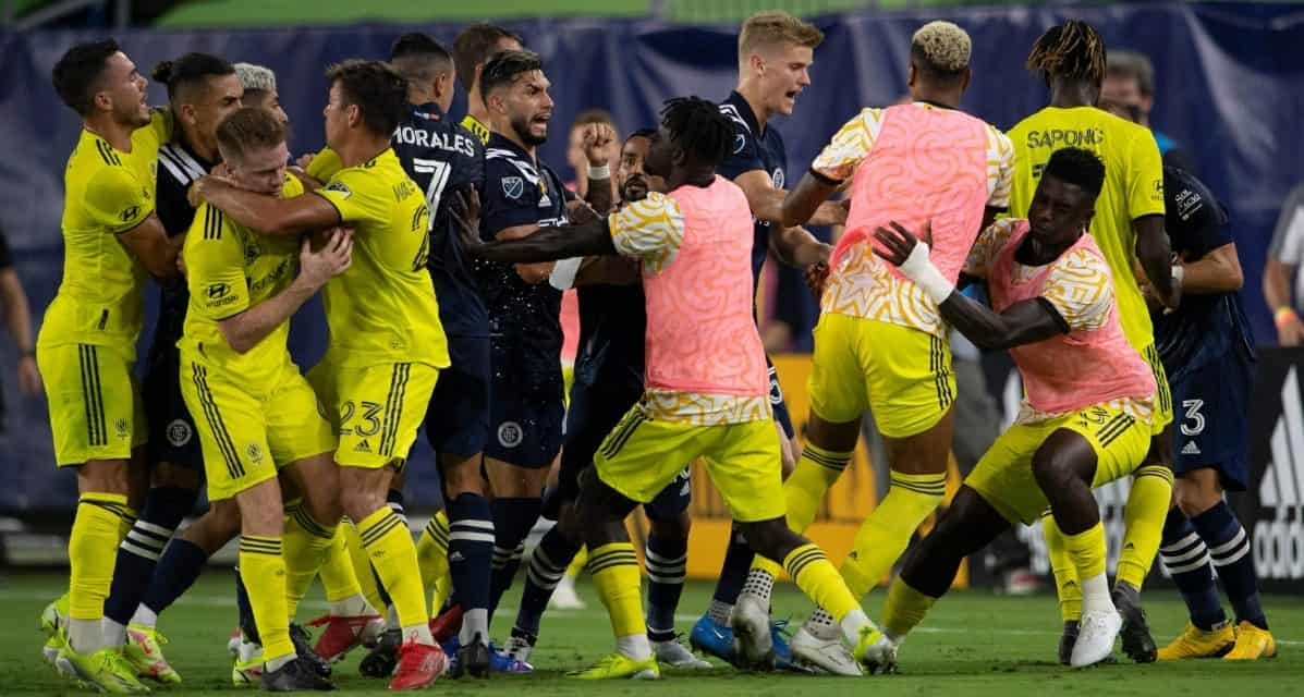 2 GOALS IN 2 MINUTES: Bad spell leaves NYCFC with a 3-1 loss at Nashville SC