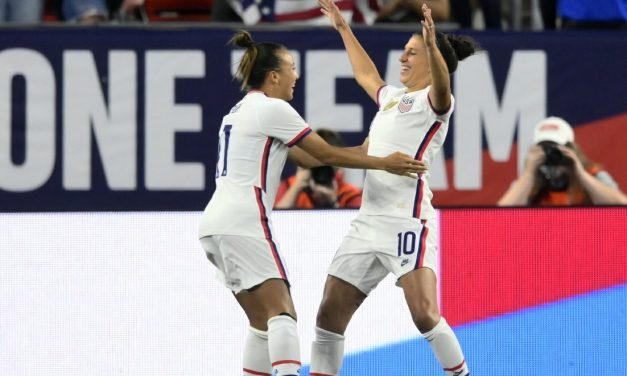 NO CONTEST: Lloyd strikes 5 times as USWNT routs Paraguay, 9-0