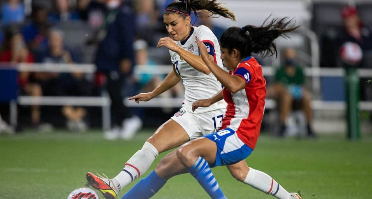 ONE-TWO PUNCH: Lavelle, Morgan spark USWNT to another rout of Paraguay