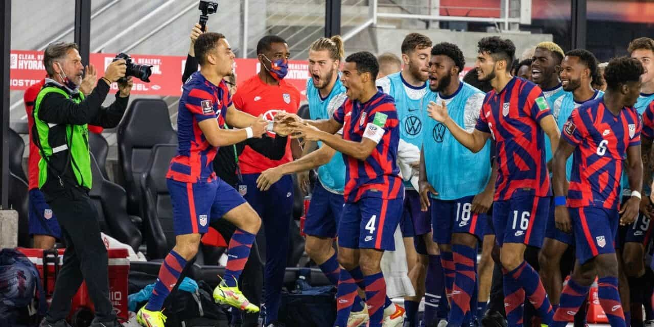 SPECTACULAR SERGINO: Dest's goal gives the USMNT a much-needed lift in win