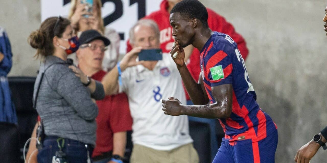 WEAH TO GO: Ex-Gottschee star a surprise starter, but knows how to finish for USMNT