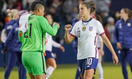 NIL-NIL: USWNT plays Korea to scoreless tie