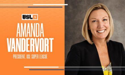 A SUPER HIRING: Vandervort named president of USL women's league
