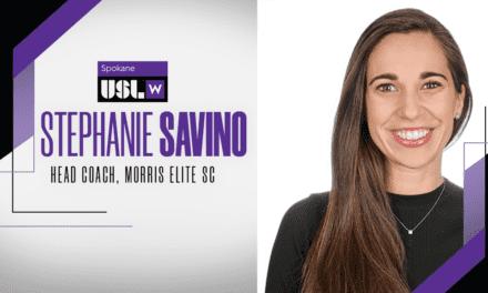 TAKING THE REINS: Morris Elite SC names Savino its 1st W League coach