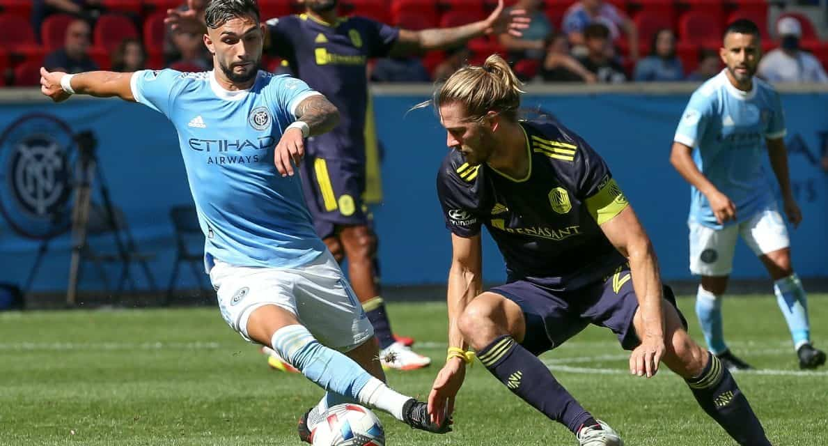 NOTHING DOING: NYCFC's blanked for 3rd consecutive match in scoreless draw with Nashville